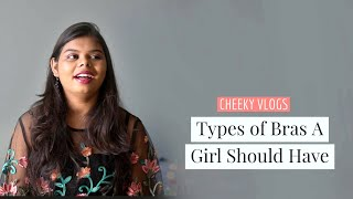 Types of Bra A Girl should have | Tamil | Cheeky Vlogs