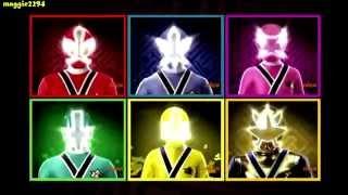 Team up - Power Rangers Samurai vs Power Rangers Megaforce