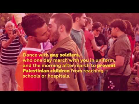 Dance with Gay Soldiers in a Warzone - Boycott Tel Aviv Pride