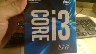asus prime b250-pro  intel core i3 7100 =win10?