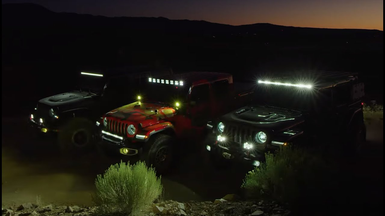 Up Close and Personal with the newest Jeep JL and JT Gladiator LED Light Kits from Baja Designs