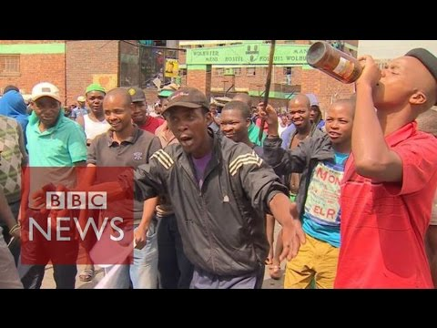 South Africa Xenophobia: ''Foreigners are taking our jobs' - BBC News