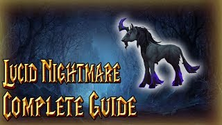 how to Get the Lucid Nightmare Mount  WoW Mount Guide
