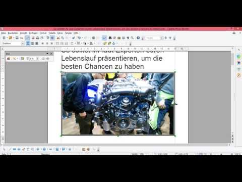 OpenOffice Bild einfügen