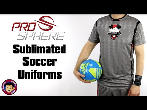 Sublimated Soccer Uniforms | Prosphere Custom Soccer Jerseys & Shorts