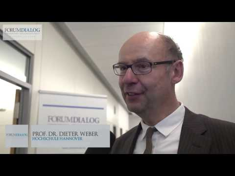 Interview mit Prof. Dr. Dieter Weber, Hochschule Hannover - Forum Dialog Niedersachsen