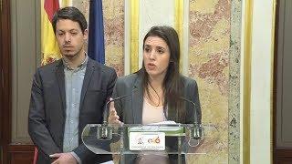 Declaraciones tras la intervención del Gobierno en el pleno sobre el Proyecto de Ley de los PGE