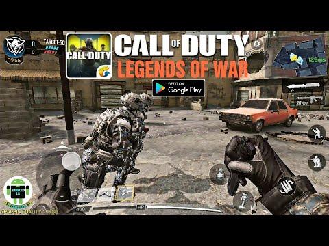 شرح طريقة تحميل لعبة call of duty legends of war للأندرويد قيم بلاي بأعلى جودة 20kills .
