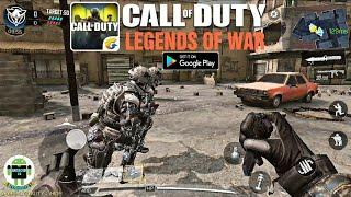 شرح طريقة تحميل لعبة Call of Duty Legends of war للأندرويد + قيم بلاي بأعلى جودة (20kills).