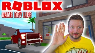 NEW CAR AND GAME! -Roblox Game Dev Life English Ep 7