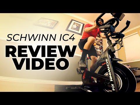 REVIEW Schwinn IC4 / Bowflex C6 Exercise Spin Bike Full Review Video Best Peloton Alternative?
