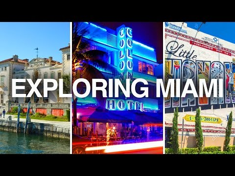 What To Do In MIAMI? | Little Havana, Villa Vizcaya, SOUTH BEACH Nightlife |  TRAVEL VLOG