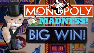 MONOPOLY MADNESS! Monopoly Slot Machine Wins from Las Vegas and Beyond