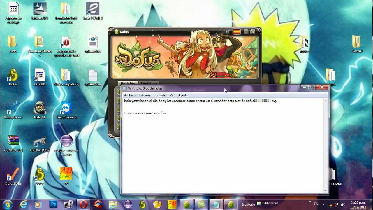 beta test dofus 2.9