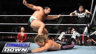 Ryback & Dolph Ziggler vs. Kevin Owens & Rusev: SmackDown, Sept. 24, 2015