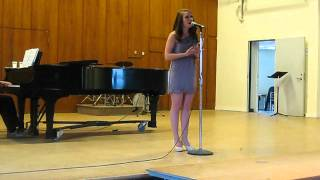 """Lovely Lies"" by Jeff Blumenkrantz (performed by Natalie Sullivan)"