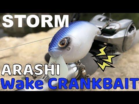 STORM ARASHI嵐を呼ぶウェイククランクベイト