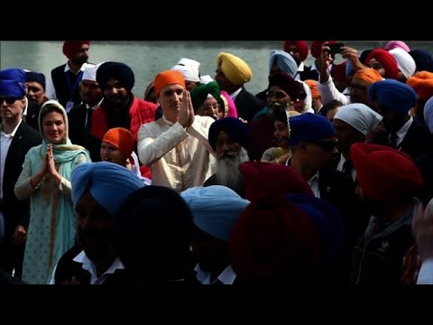 Canada PM Justin Trudeau visits Golden Temple in Amritsar