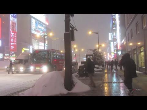 The Coldest City in Japan - Sapporo, Hokkaido 札幌はとても寒いですね!