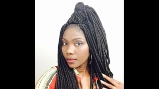 DIY crochet braids with Cornrow Cap (facile et rapide)👍☀️💕💕