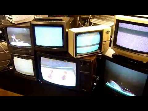 Retro TV Art Installation for Kurt Geiger - 10-05-2012 - Vintage Televisions