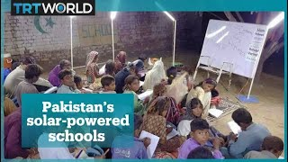 Pakistan's solar-powered schools for the underprivileged