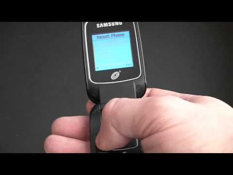 How To Restore A Samsung SGH-T245G Cell Phone To Factory Settings