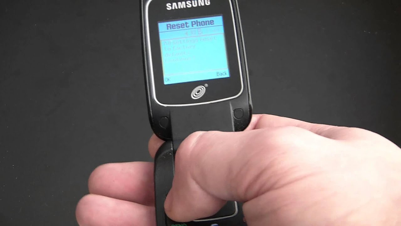 how to restore a samsung sgh t245g cell phone to factory settings rh youtube com