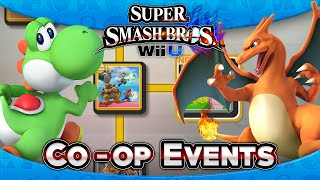 super smash bros wii u part 12 co op events 15 17 4 player
