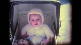 Vintage Super 8mm Baby Footage Llansannan 1970s FIXED