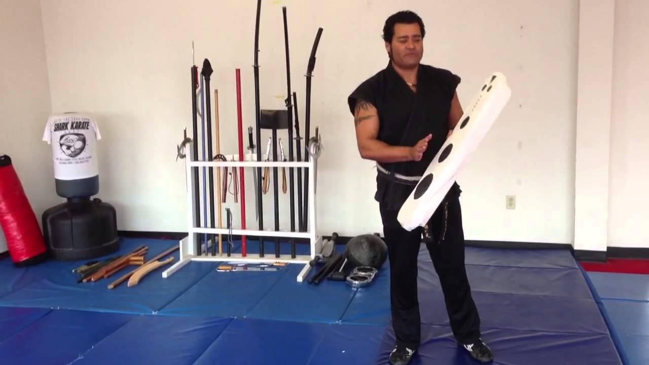 Shark Karate home made martial arts equipment  YouTube