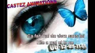 karaoke -Christophe Mae - Ça fait mal