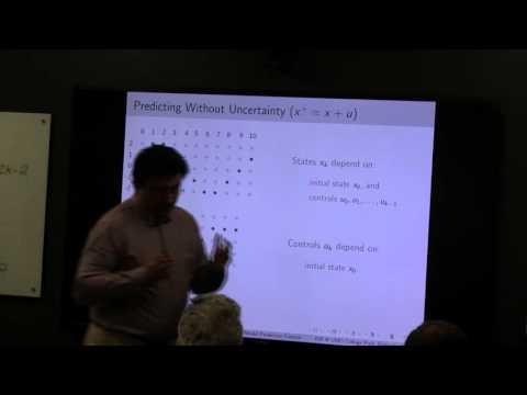"""MBSE Colloquium: Sasa Rakovic, """"Robust Model Predictive Control"""""""