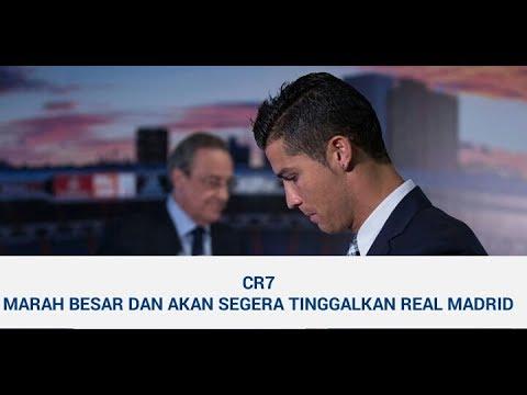 MARAH BESAR C RONALDO INGIN TINGGALKAN MADRID || Berita Bola Hari Ini