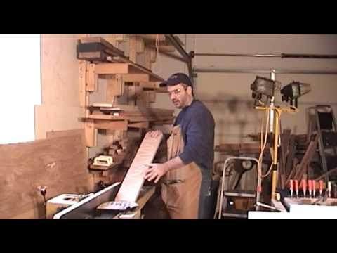 how to prepare rough lumber