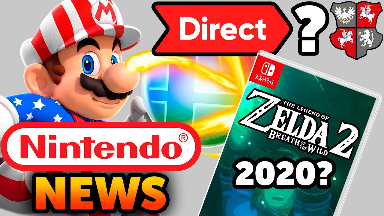 Nintendo Direct in July? Switch Games Delays and Smash Community