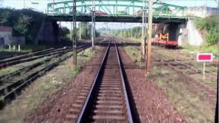 Train ride / Przejazd pociągiem TLK Poznań - Gniezno, linia 353