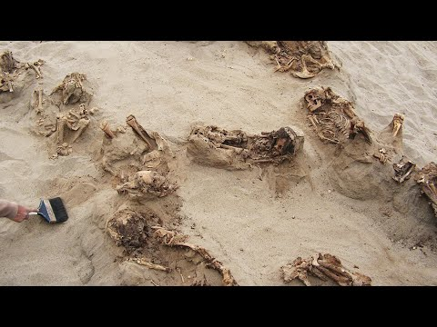 World's largest known mass grave of children unearthed in Peru
