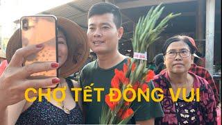 Khương Dừa đi chợ Tết với mẹ, không khí Tết tràn ngập quê hương, vui quá xá vui!!!