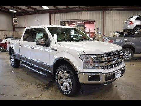 2018 White Platinum Metallic Ford F150 Lariat Long Box Ft6409 Motor Inn Auto Group Youtube