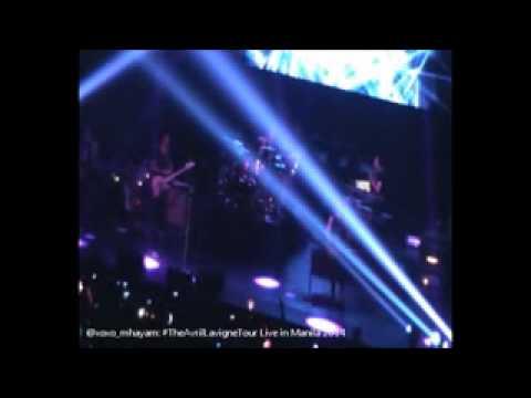 Avril Lavigne Live In Manila 2014 (The Avril Lavigne Tour)
