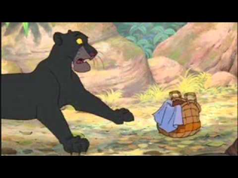 The Jungle Book Bagheera Touch Baby Mowgli Cry Fandub