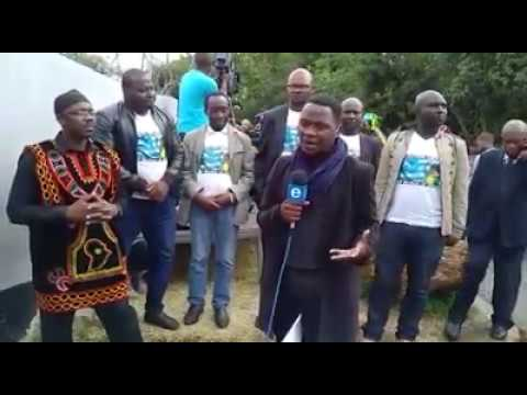 Watch as this brave Ambazonian speak on Etv South Africa! Watch