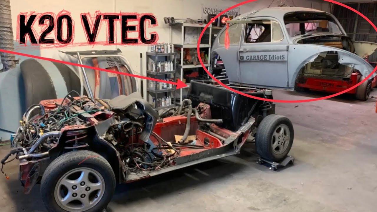 Introducing Toyota To Vtec  Crazy K20 Mr2 Vw Bug