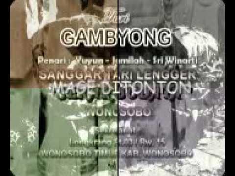 lengger wonosobo Gambyong Sanggar tari sekar budaya