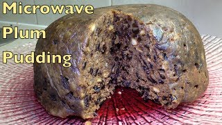 Christmas Pudding 40 Minute Microwave Recipe Cheekyricho