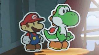 Paper Mario: Color Splash (Wii U) - 100% Walkthrough Part 13 - Dark Bloo Inn
