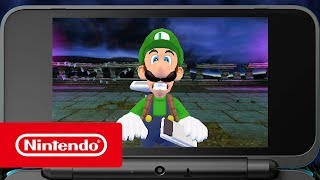 Luigi's Mansion - Not-So-Spooky Trailer  (Nintendo 3DS)