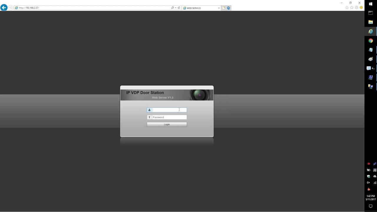 Video Intercom/How To Add A VTO2111D-WP To A VTH5221D - Dahua Wiki