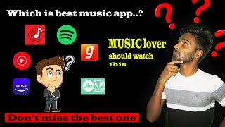 5 BEST ONLINE MUSIC STREAMING APPS   TAMIL   AMAZON PRIME MUSIC   SPOTIFY screenshot 5